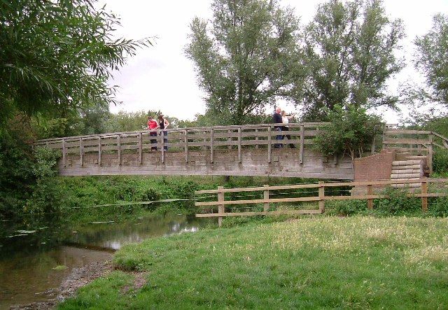 Never Too Old For Pooh-Sticks!