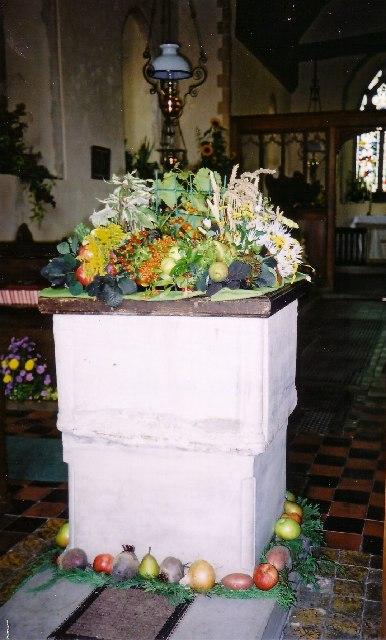 Norton Mandeville: All Saint's Church Flower Festival 2003