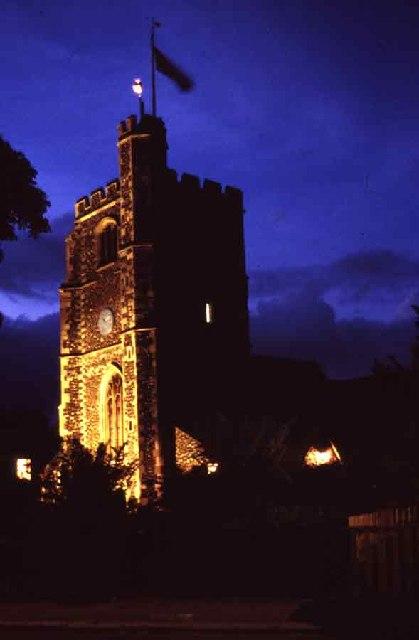 Beacon on Tower of St Mary the Virgin Church, Monken Hadley