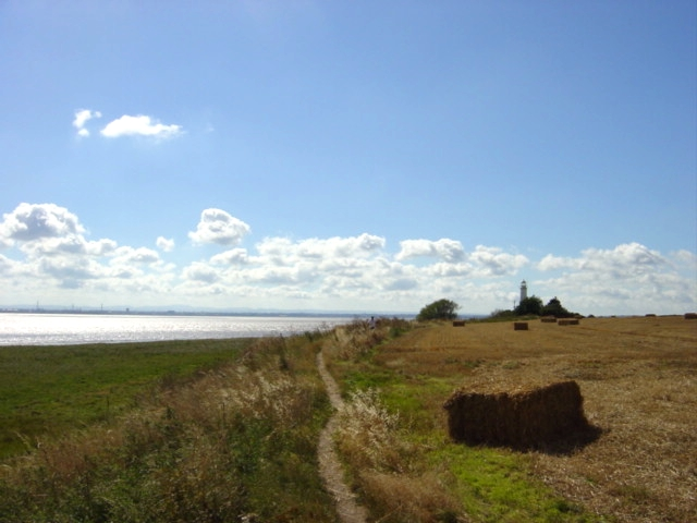 Hale Lighthouse and Mersey vista