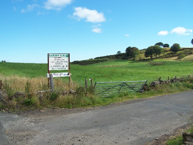 Road to Barnbrock Farm