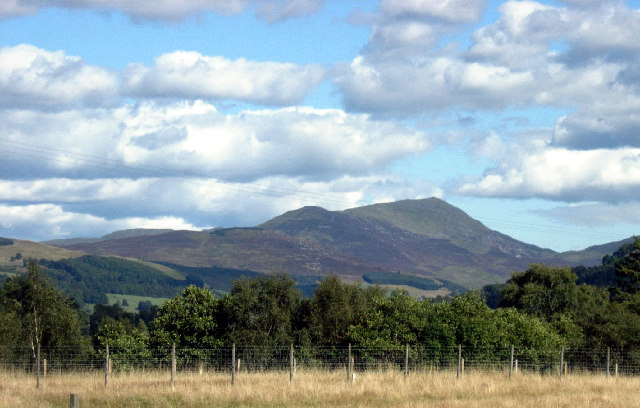 Ben Vrackie from Bruar