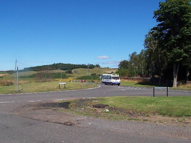 Two roads to Port Glasgow