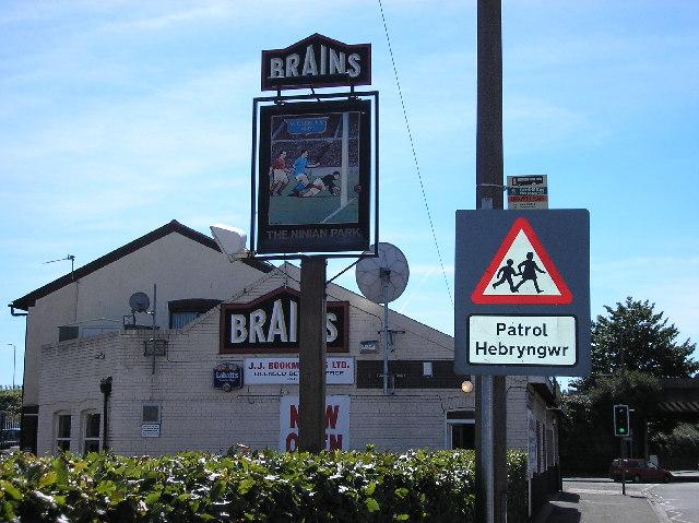 The Ninian park pub