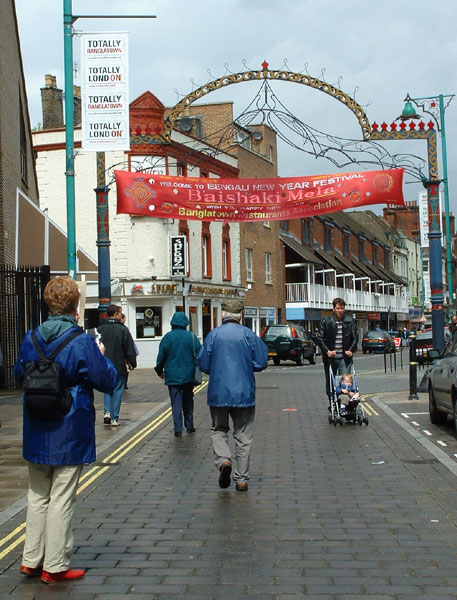 Brick Lane, Spitalfields