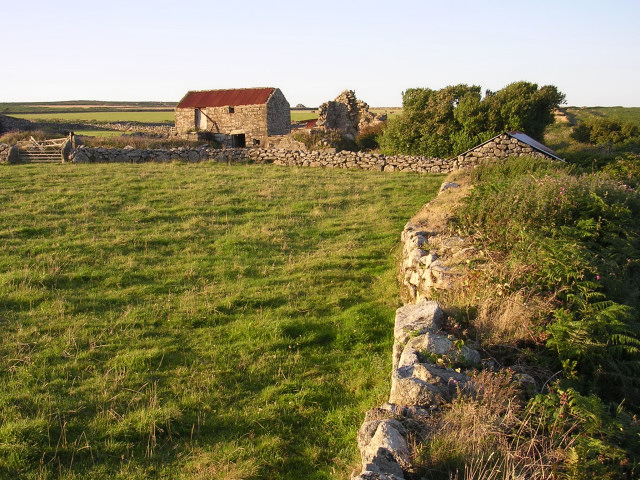 Farm buildings at Little Higher Bosullow
