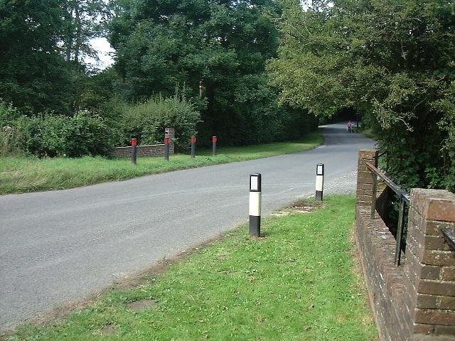 River Uck bridge near Hastingford Farm