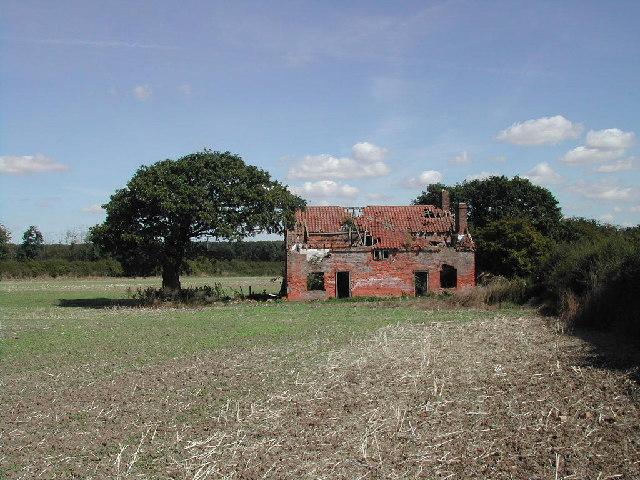Ruined Farm Dwellings