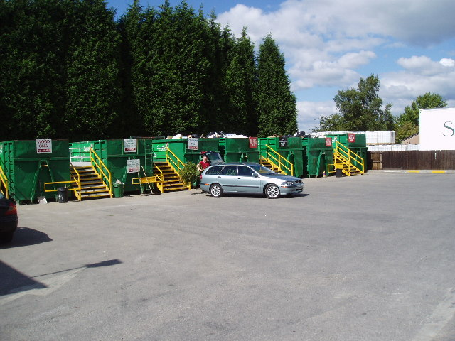 Waste recycling facility, Barnoldswick, Yorkshire
