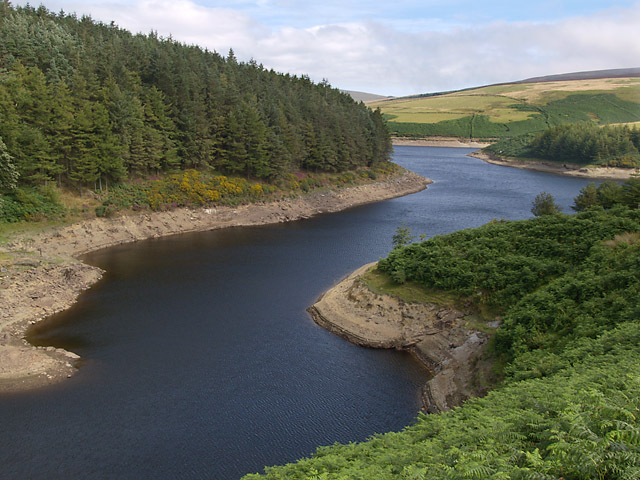 Sulby Reservoir.   Isle of Man.