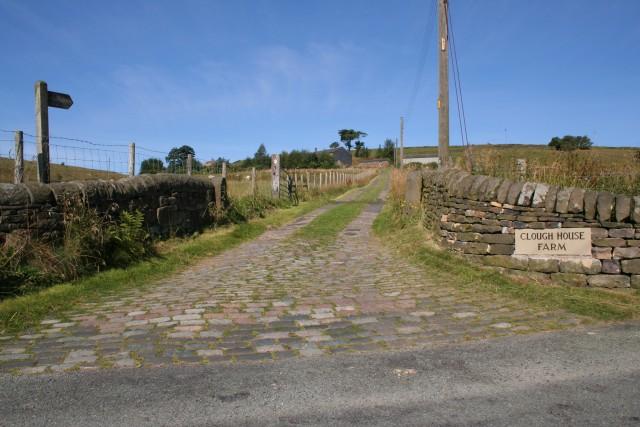 Footpath, Clough House Farm