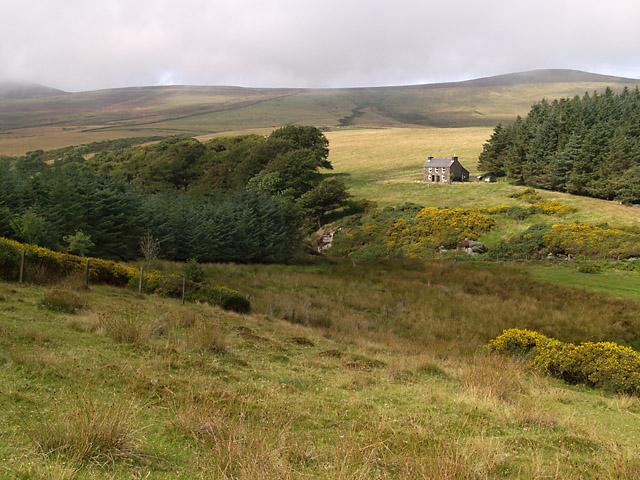 Cottage, Druidale.   Isle of Man.