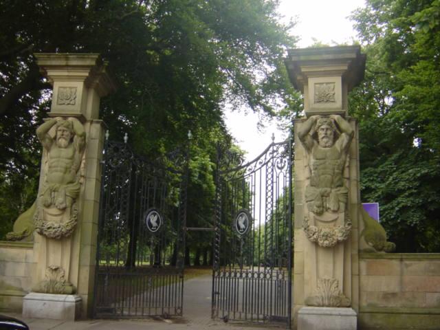 Gates of Calderstones Park
