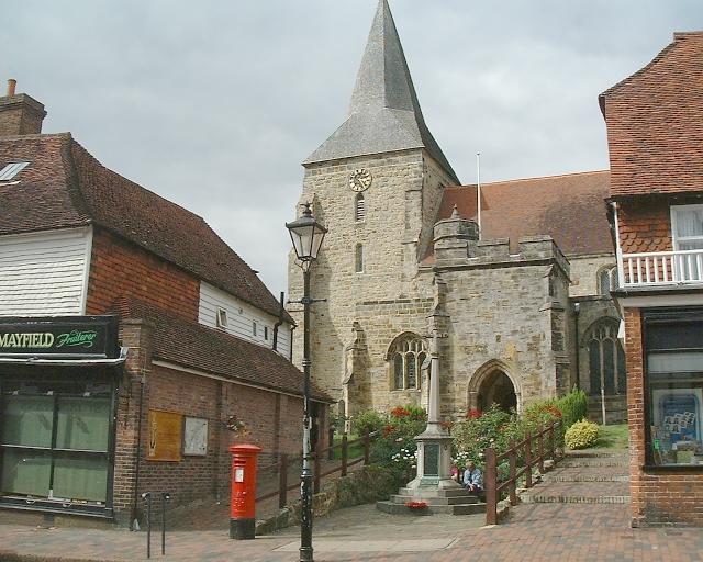 St Dunstan's Parish Church - Mayfield