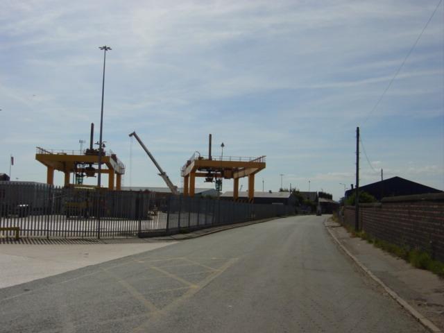 Freightliner Terminal, Garston Docks