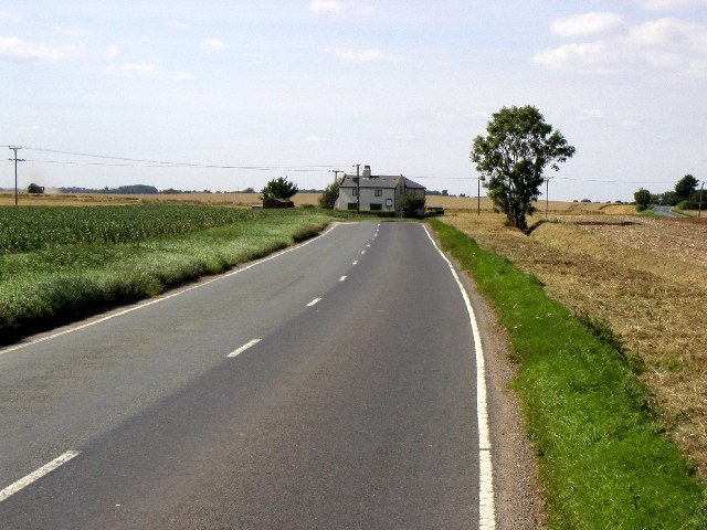 The road to Patrington from Welwick