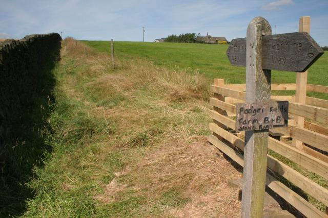 Pennine Way, Pry Hill