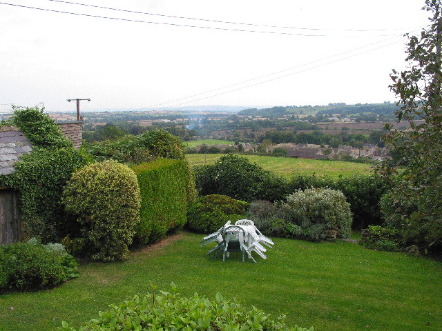View across valley from Blockley Village