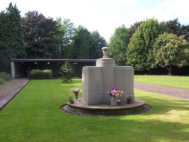WW2 Memorial to cremated war dead