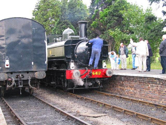 Station at Toddington