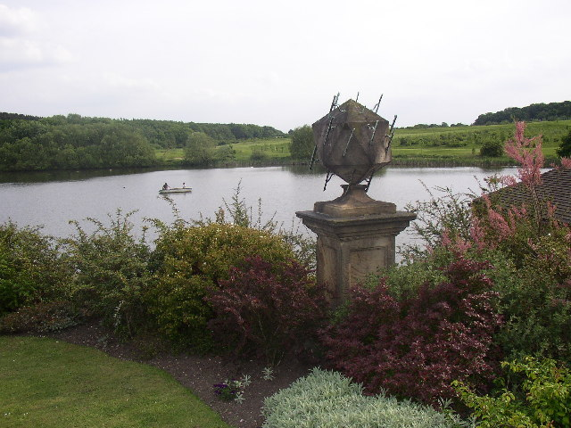 Walton Hall Lake and Sundial