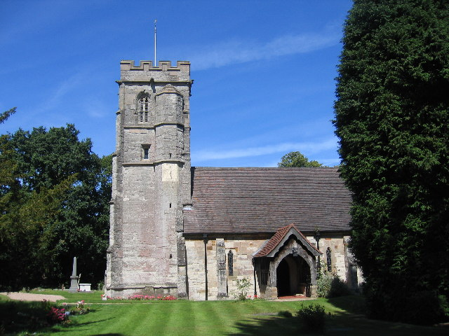 Church of St. Giles, Packwood