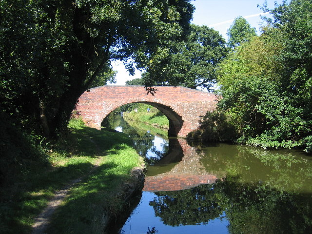 Turnover Bridge, Grand Union Canal, Chessetts Wood