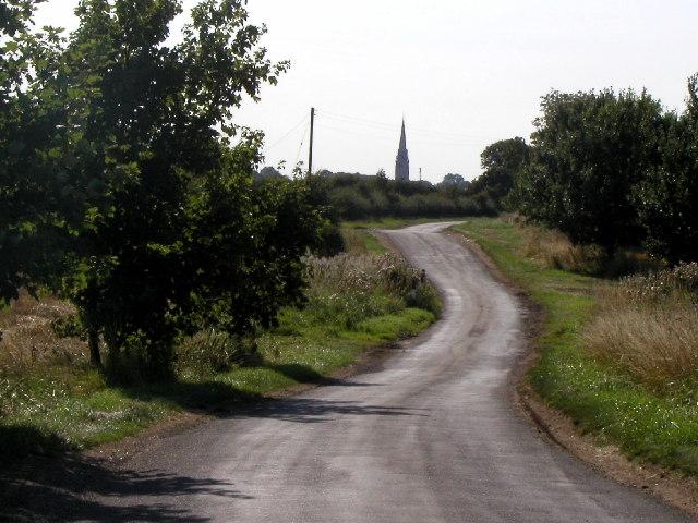 The road to Patrington