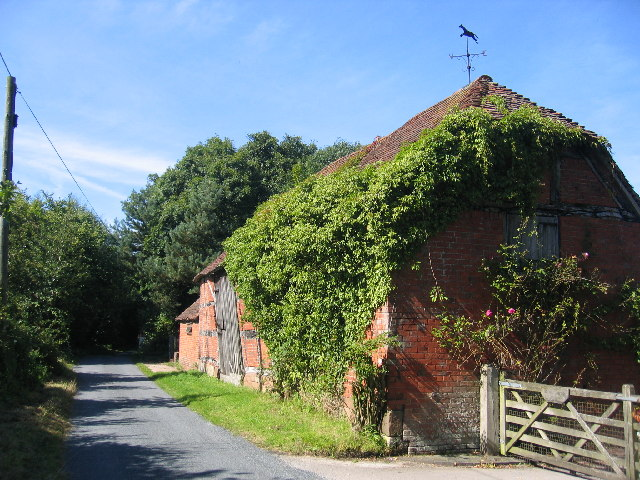 Old barn at Balsall Cottage Farm
