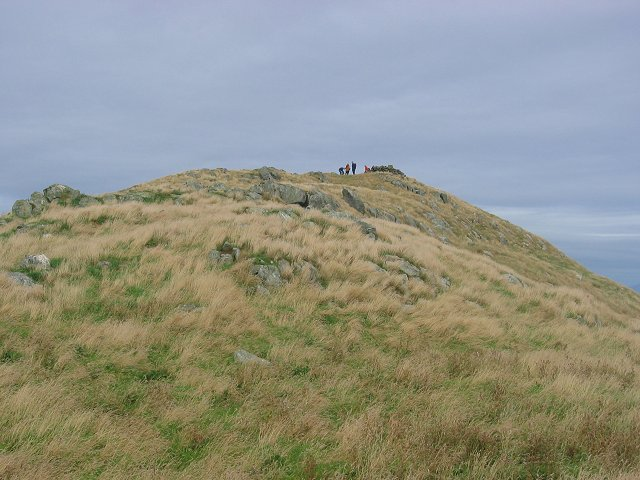 Summit, Ailsa Craig