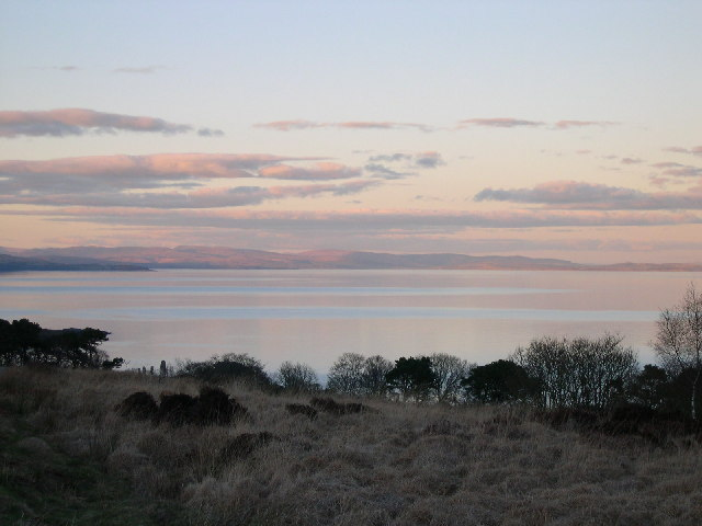 Towards Loch Fyne from North Kintyre