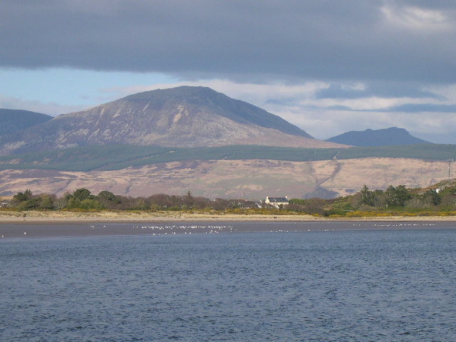 Arran from Carradale Bay