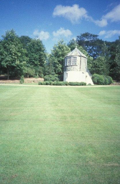 The gazebo at Rosemoor RHS garden