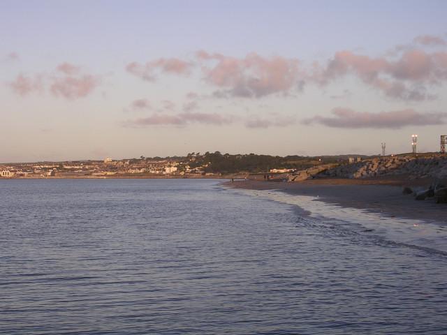 Longrock beach at sunrise, Mount's Bay