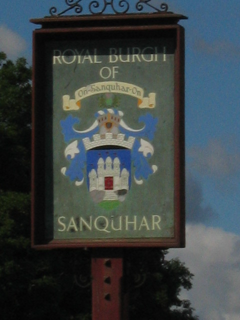 You are now entering Sanquhar