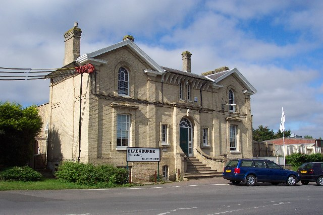 The old railway station, Harleston, Norfolk