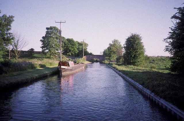 The Trent & Mersey Canal above Meaford locks