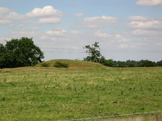Motte and Bailey, at Alstoe Farm