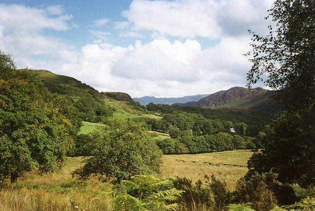 Welsh Highland Railway: above Beddgelert