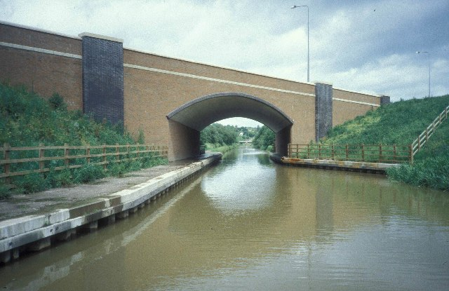 The Trent & Mersey Canal just south of Harecastle Tunnel
