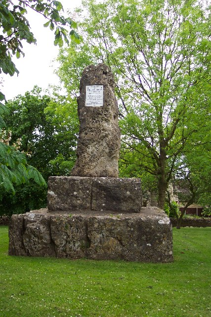 William Smith monument at Churchill, nr Chipping Norton