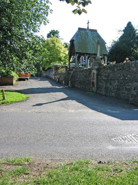 Lych-gate in Ashwell, Rutland