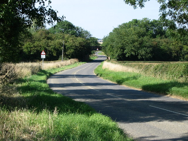 Teigh Road near Ashwell