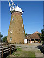 SK8519 : Wymondham Windmill, Leicestershire by Kate Jewell