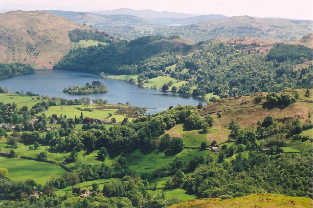 Grasmere from Helm Crag, Cumbria