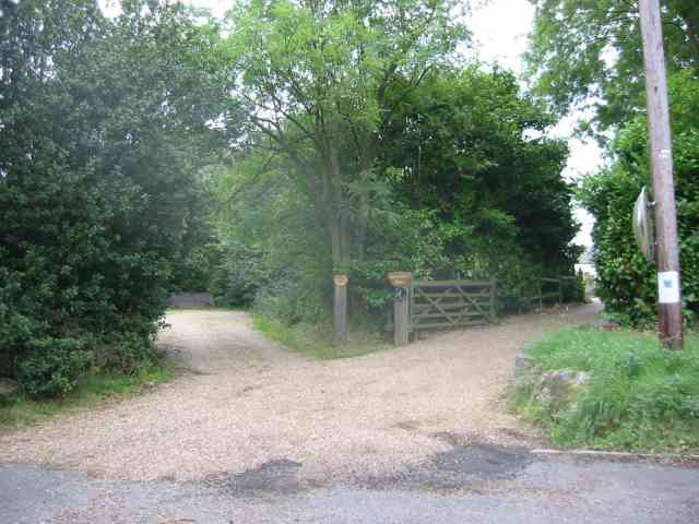 Entrance  to Cherry Tree Farm