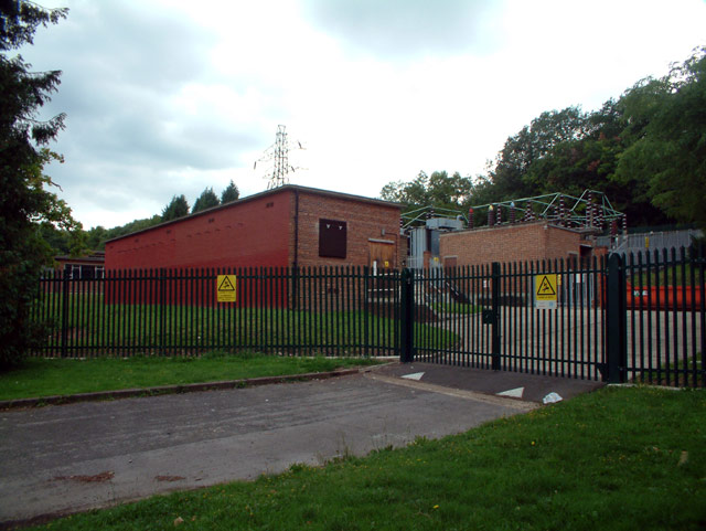 Electricity substation, Courtwood Lane, CR0