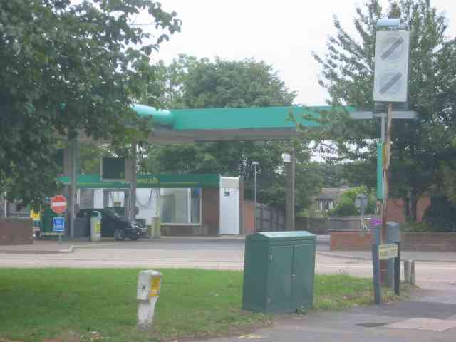 Petrol Station at Leverstock Green