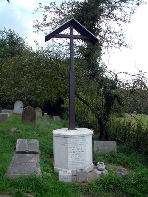 Memorial at St John's, West Wickham BR4