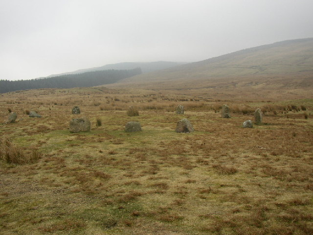 Stone Circle, Blakeley Moss, Ennerdale